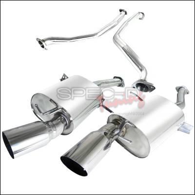 Spec-D - BMW 3 Series Spec-D Catback Exhaust System - MFCAT3-E9207