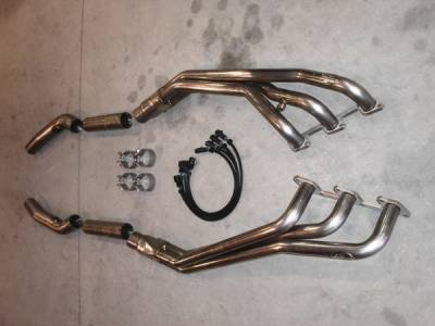 Stainless Works - Ford Mustang Stainless Works Header & Exhaust System - MV6HDROR