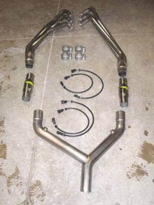 Stainless Works - Ford Mustang Stainless Works Header & Exhaust System - MV6HDRYCAT