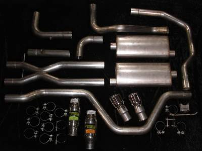 Stainless Works - Chevrolet SSR Stainless Works Header & Exhaust System - SSRTD