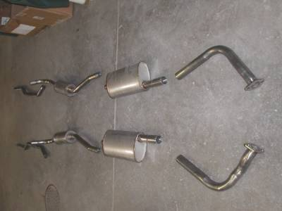 Stainless Works - Ford Thunderbird Stainless Works Exhaust System - T5610400S