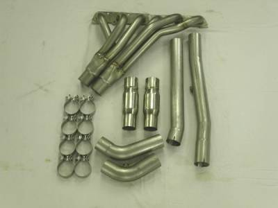 Stainless Works - Chevrolet Trail Blazer Stainless Works Header & Exhaust System - TB6HDRCAT