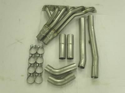 Stainless Works - Chevrolet Trail Blazer Stainless Works Header & Exhaust System - TB6HDROR