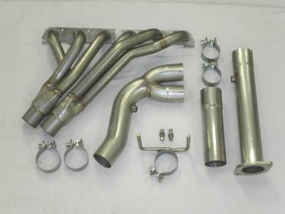 Stainless Works - Chevrolet Trail Blazer Stainless Works Header & Exhaust System - TB6HDRYOR
