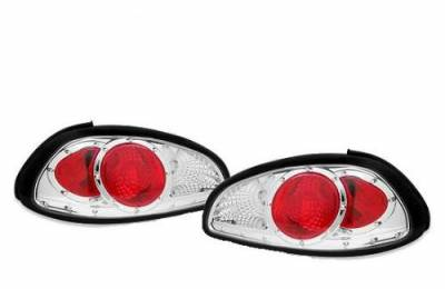 Custom - Chrome Red Clear Taillights