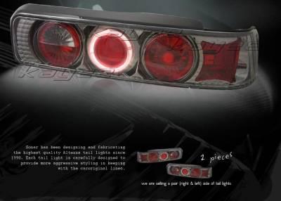 Custom - Smoke Halo Altezza Taillights