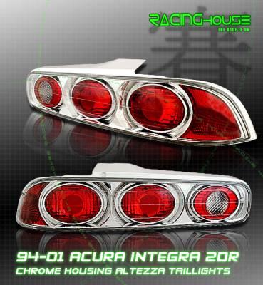Custom - Chrome Euro Clear Taillights