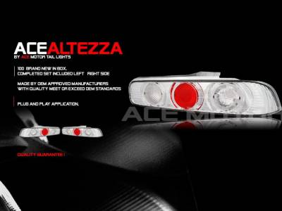 Custom - Chrome Ace Altezza Taillights