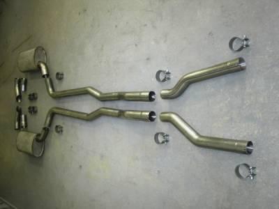 Stainless Works - Chevrolet Corvette Stainless Works Hot Rod Exhaust System - V7381SW