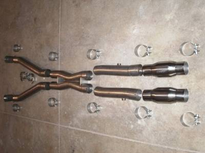 Stainless Works - Chevrolet Corvette Stainless Works Cat-Back Exhaust System - VC53HDRCAT