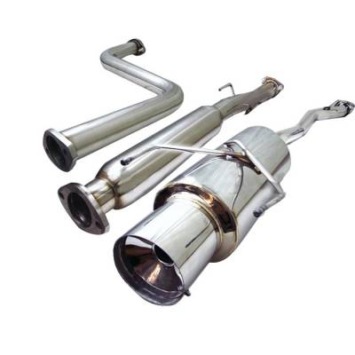 Spyder Auto - Honda Accord Spyder Cat-Back Exhaust - YZ-CB-16101
