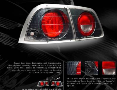 Custom - Carbon Fiber Altezza Taillights