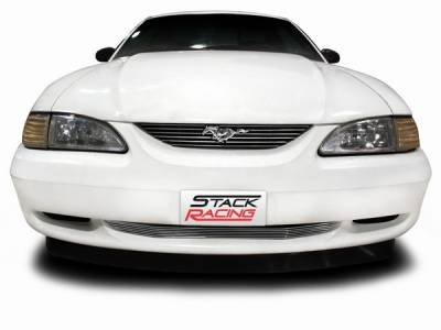Stack Racing - Ford Mustang Stack Racing Billet Upper Grille with Pony Cutout - 17004