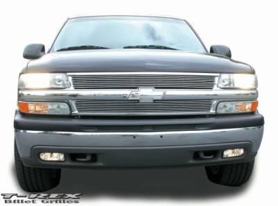 T-Rex - Chevrolet Silverado T-Rex Billet Grille Insert - 7 Bars - 20075