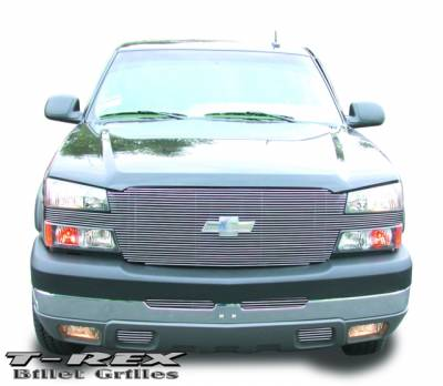 T-Rex - Chevrolet Silverado T-Rex Full Face Billet Grille - 20101