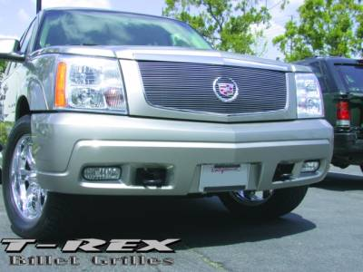 T-Rex - Cadillac Escalade T-Rex Billet Grille Insert without Logo Plate - 27 Bars - 20181