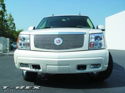 T-Rex - Cadillac Escalade T-Rex Billet Grille Insert with Center Billet Logo Plate - 27 Bars - 20182