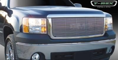 T-Rex - GMC Sierra T-Rex Billet Grille Insert & Overlay - Bolt On - 20205