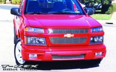 T-Rex - Chevrolet Colorado T-Rex Billet Grille Overlay - Bolt On & Insert - 20265