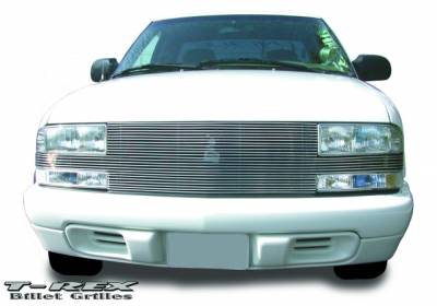 T-Rex - Chevrolet S10 T-Rex Full Face Billet Grille - 25 Bars - 20277