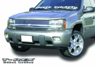T-Rex - Chevrolet Trail Blazer T-Rex Billet Grille Insert - Flush Mount - 20280