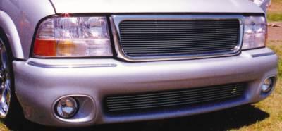 T-Rex - GMC Sonoma T-Rex Billet Grille Insert - Flush Mount Style - 15 Bars - 20380