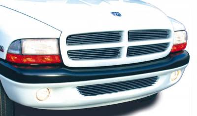 T-Rex - Dodge Durango T-Rex Billet Grille Insert - 6 Bars - 4PC - 20420