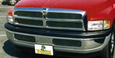 T-Rex - Dodge Ram T-Rex Billet Grille Insert - 12 Bars - 4PC Style - 20450
