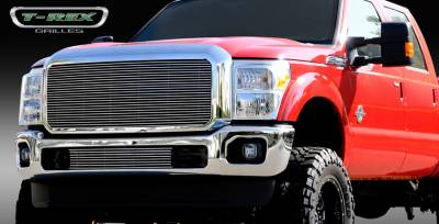 T-Rex - Ford Superduty T-Rex Billet Grille Insert with Optional Logo Plate - 1PC - 20546