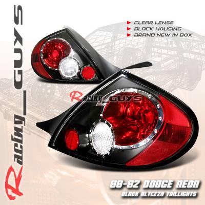 Custom - Black Clear Lense Taillights