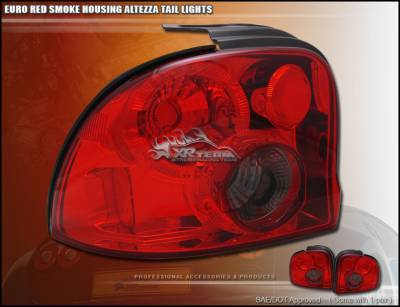 Custom - Red Smoke Altezza Taillights