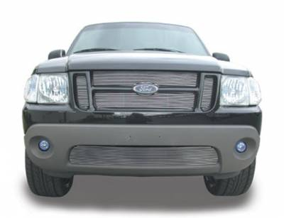 T-Rex - Ford Expedition T-Rex Billet Grille Insert - 23 Bars - 4PC Style - 20652