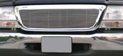 T-Rex - Ford Ranger T-Rex Billet Grille Insert - Full Opening - 17 Bars - 1PC - 20676