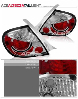Custom - Red Clear Altezza Taillights