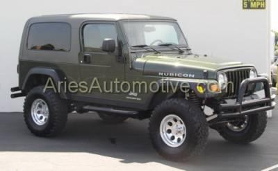 Aries - Jeep Wrangler Aries Sidebars - 3 Inch