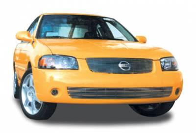 T-Rex - Nissan Sentra T-Rex Billet Grille Insert - 14 Bars - 20753