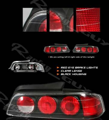 Custom - Black Euro Altezza Taillights