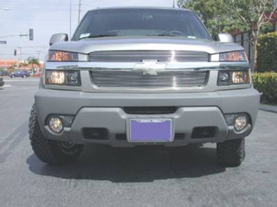 T-Rex - Chevrolet Avalanche T-Rex Billet Grille Overlay - Bolt On - 2PC - 21085