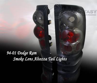 Custom - 3D Smoke Altezza Taillights