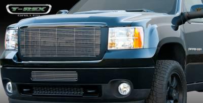 T-Rex - GMC Sierra T-Rex Billet Grille Insert & Overlay - Bolt On - 21209