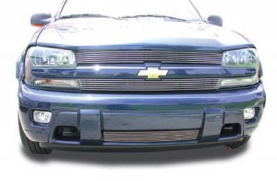 T-Rex - Chevrolet Trail Blazer T-Rex Billet Grille Overlay - Bolt On - Recess Mount - 21281