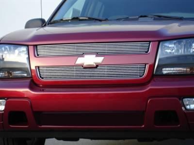 T-Rex - Chevrolet Trail Blazer T-Rex Billet Grille Overlay - Bolt On - 2PC - 21283