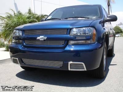 T-Rex - Chevrolet Trail Blazer T-Rex Billet Grille Overlay - Bolt On - 4PC - 21284