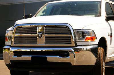 T-Rex - Dodge Ram T-Rex Billet Grille Overlay and Insert - 4PC - 21451