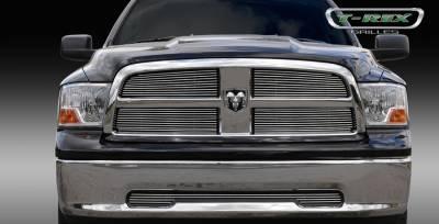 T-Rex - Dodge Ram T-Rex Billet Grille Overlay - 4PC - 21456