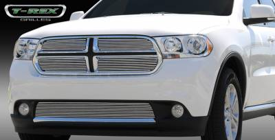 T-Rex - Dodge Durango T-Rex Billet Grille Overlay - Bolt On - 4PC - 21491