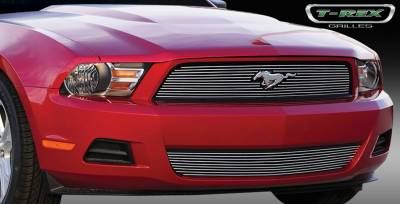 T-Rex. - Ford Mustang T-Rex Billet Grille Overlay - 1PC - 21518