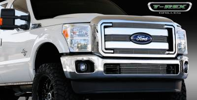 T-Rex - Ford Superduty T-Rex Billet Grille Overlay - Bolt On - 4PC - 21546