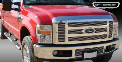 T-Rex - Ford Superduty T-Rex Billet Grille Overlay - Bolt On - 6PC - 21563