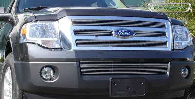 T-Rex - Ford Expedition T-Rex Billet Grille - 4 Bars - 4PC - 21594